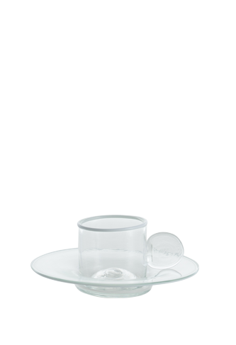Cristallo Espresso Cup with Handle